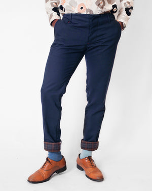 Lined Field Pant | Soft Navy Twill