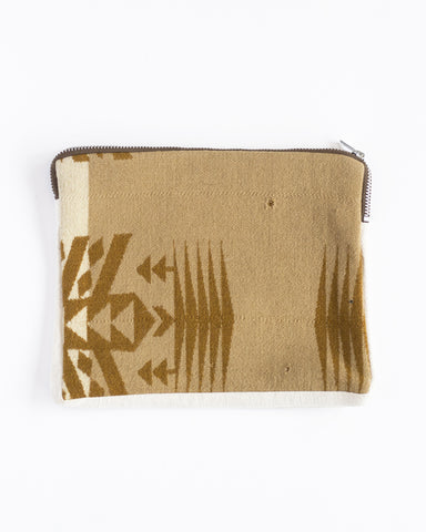 Pouch | Taupe Pendleton