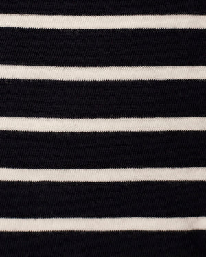 Fabric | Navy/White Stripe Knit