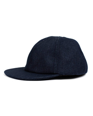 Camp Cap | Raw Indigo Denim