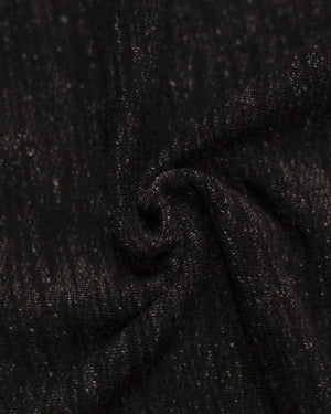 Fabric | Black Denim French Terry