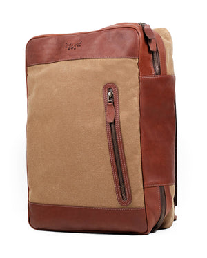 The Highlander Backpack | Field Tan