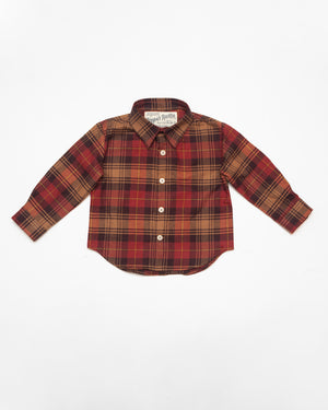 Long Sleeve Shirt | Autumn Plaid