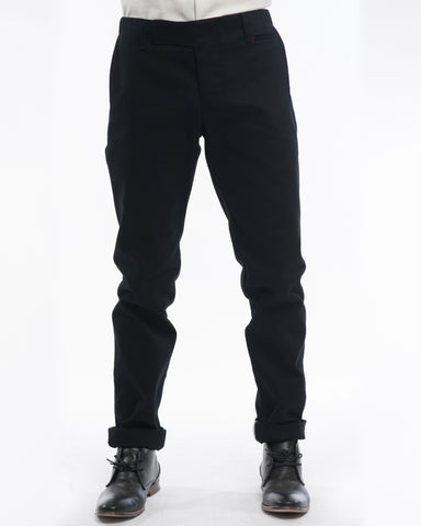Black Field Pant - front