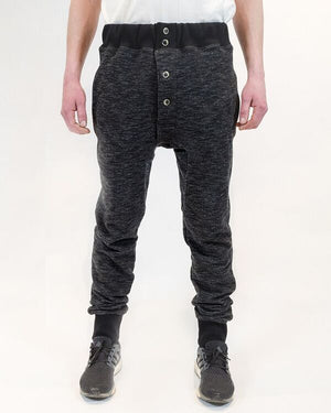 Loungman Pant Black Front