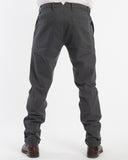 Charcoal Denim Pants - back