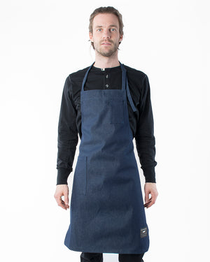 The Apron | Raw Indigo Denim