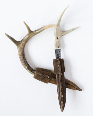 Natural Antler with steel Blade Decorative Knifes