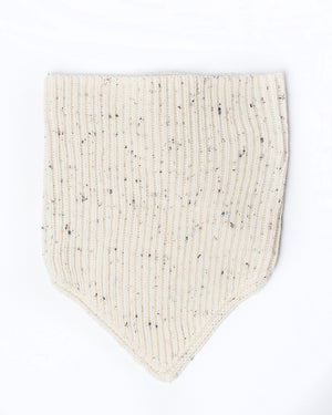 White Neckwarmer | 18 Waits | Front