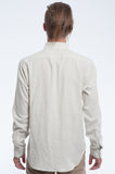 Cloudy Double Cloth Long Sleeve Shirt Back