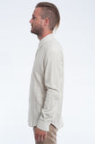 Cloudy Double Cloth Long Sleeve Shirt Side