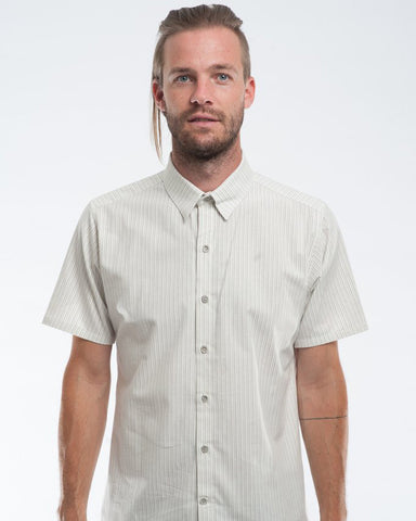 The Dylan Shirt Short Sleeve | Retro Pinstripes