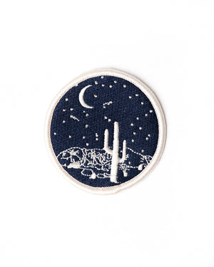 Embroidered Patch | Moonlight