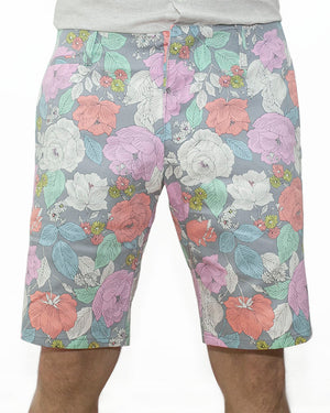 Slim Shorts | Flower Power