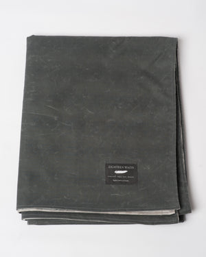 The Blanket | Charcoal Waxed Cotton