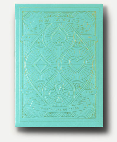 MISC Goods | Playing Cards | Turquoise