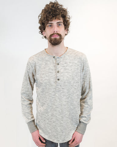 Grey Henley - front