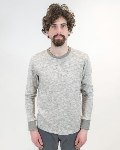 Grey Long Sleeve T-Shirt - front