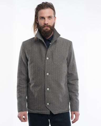 The Baumer | Grey Slub Cotton