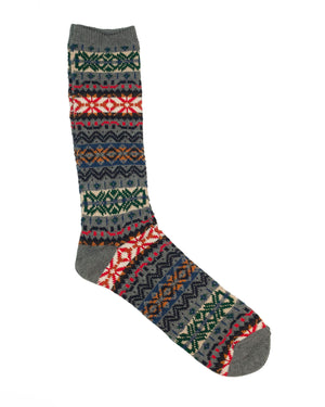 Anonymous Ism Socks | Grey Snowflake