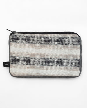 Pouch | Winter Aztec/ Grey Waxed Cotton