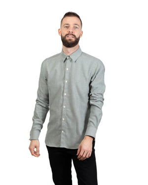 Dylan Shirt | Soft Sage Flannel
