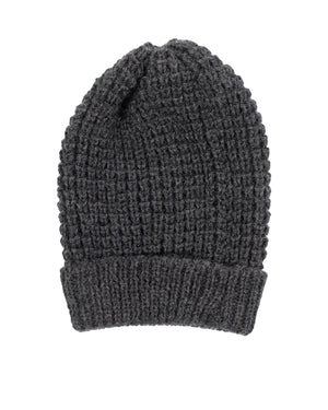 Wool Toque | Charcoal