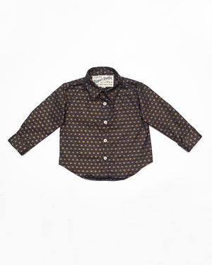 Long Sleeve Shirt | Indigo Burst