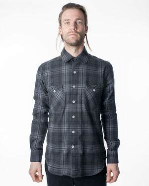 Woodsman | Charcoal Plaid