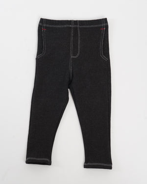 black french terry jackrabbit trouser front