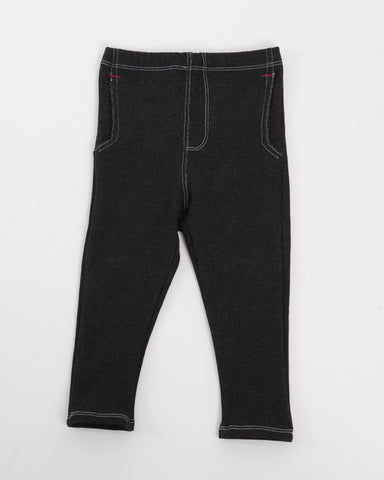 Hopper Hunter | Jackrabbit Trouser | Black French Terry