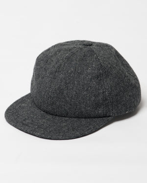 Charcoal Kids Wool Cap - front