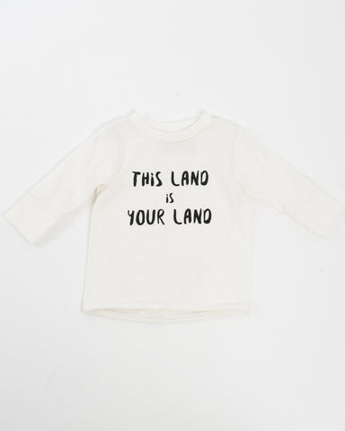 Kids Long Sleeve T-Shirt - this land is your land