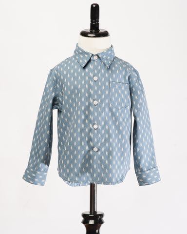 Hopper Hunter | Hopper Shirt | Apache Blue