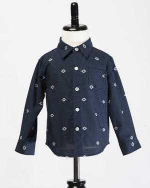 Long Sleeve Shirt | Navy Space