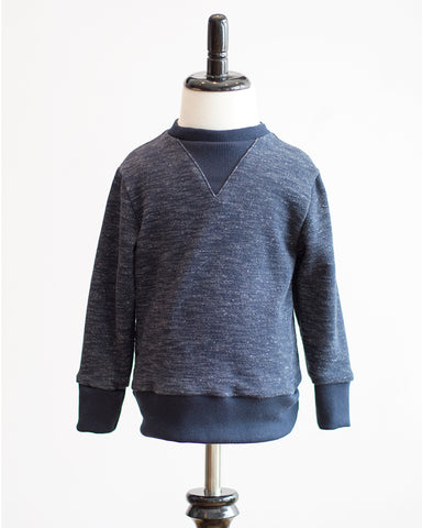 Kids Navy Sweatshirt - front