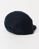 Navy Wool Cap - Infant Size -back
