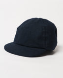 Navy Wool Cap - Infant Size - front