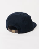 Navy Wool Cap - Toddler Size - back