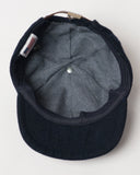 Navy Wool Cap - Toddler Size - inside