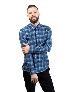Dylan Shirt | Vintage Navy Plaid