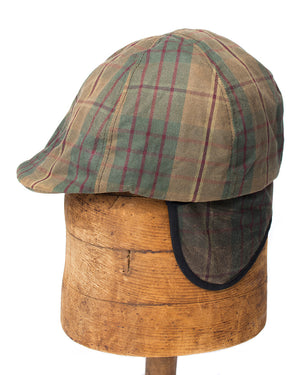 Kids Plaid Cap | Hopper Hunter | Front