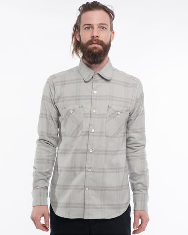 The Woodsman | Light Grey Plaid