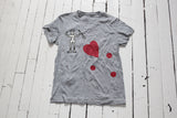 Women's Graphic T-Shirt | Devil x Heart