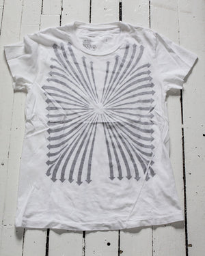 white graphic tshirt