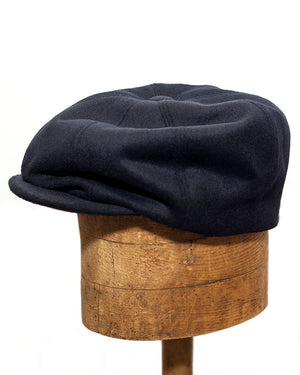 Bruce Cap | Navy Wool