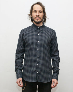 Dylan Shirt | Navy Windowpane