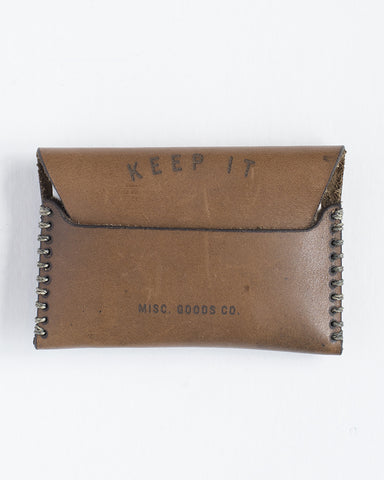 MISC Goods | Leather Wallet | Cognac