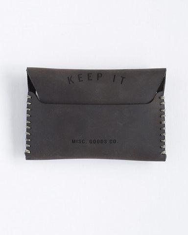 MISC Goods | Leather Wallet | Dark Brown