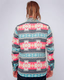 Men's Aztec Navy Jacket - back